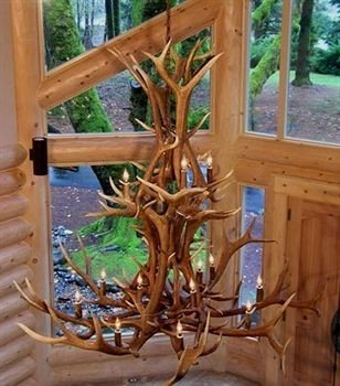 building wooden art lighting sculpture carving driftwood outdoor structure chair porch Deck