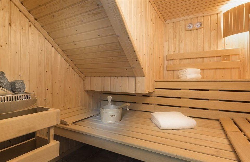 wooden swimming pool sauna cottage bathroom Deck