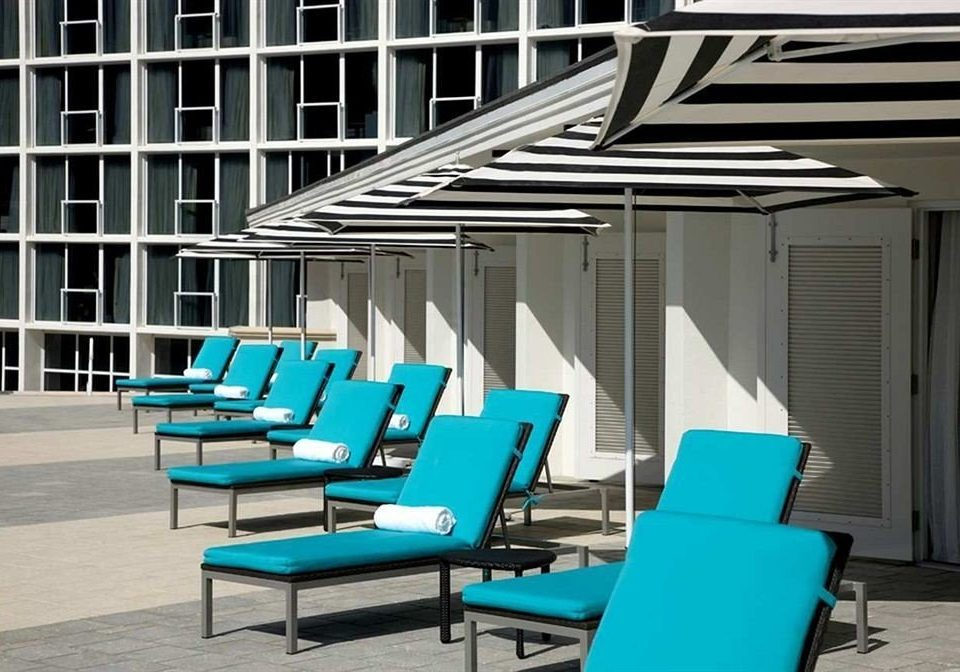 chair blue outdoor structure living room condominium Deck