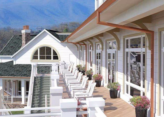 building property porch siding home white house outdoor structure orangery cottage roof residential area farmhouse Deck