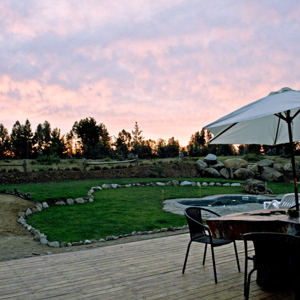 Deck Dining Drink Eat Grounds Lodge Romantic Rustic sky set day