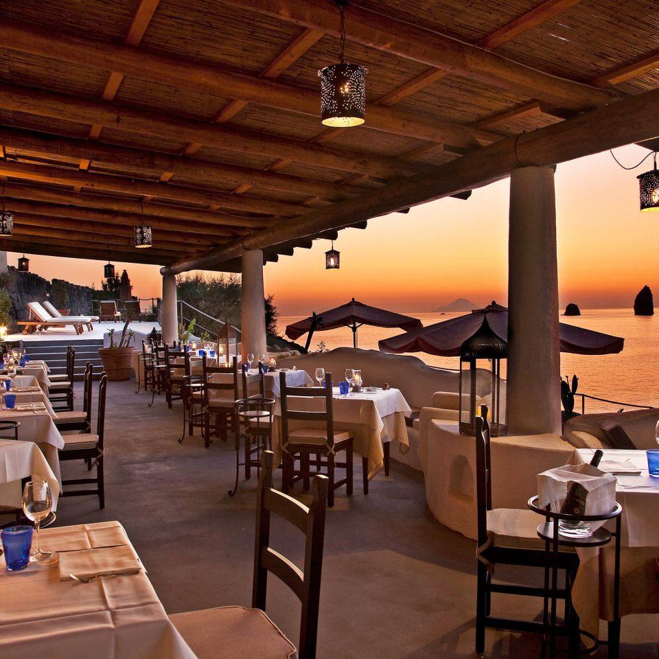 Deck Dining Eat Resort Romance Wellness chair restaurant