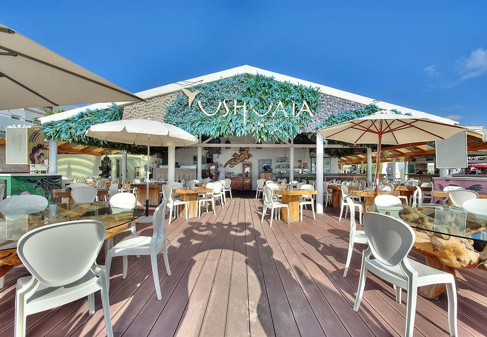 Chair Sky Resort Restaurant Marina Dining Deck Set