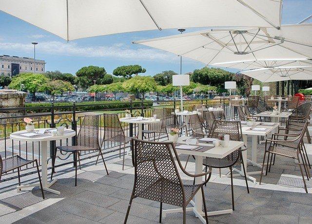 chair property restaurant plaza Dining outdoor structure Resort walkway Deck