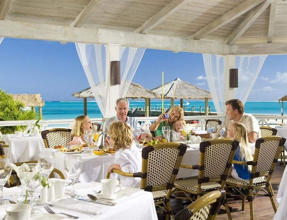 restaurant Resort Dining Deck dining table