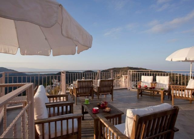 chair property Resort Dining Villa wooden cottage eco hotel set Deck