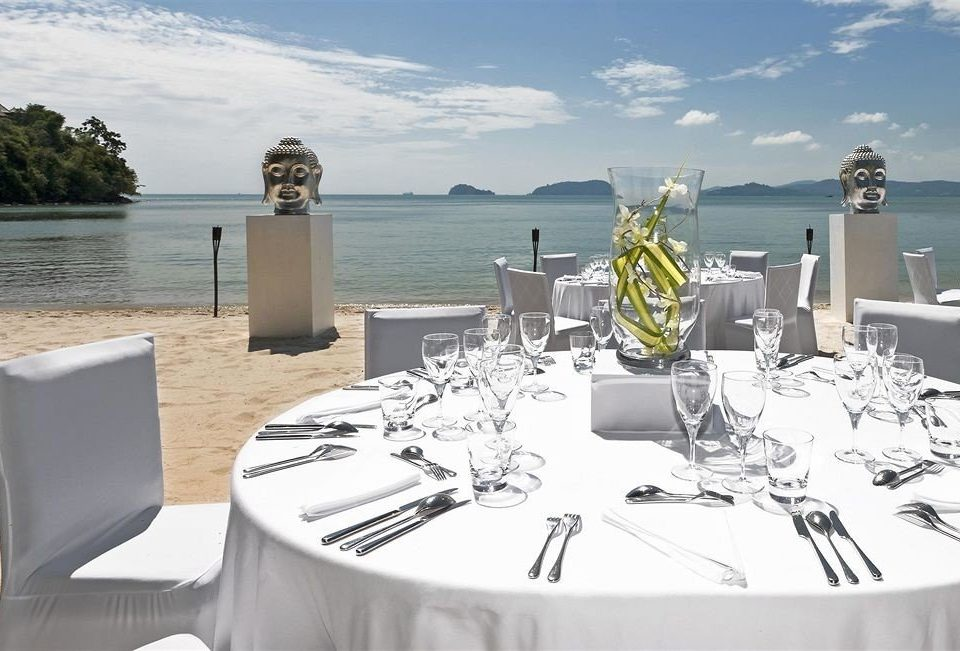 water passenger ship yacht vehicle restaurant Deck dining table set