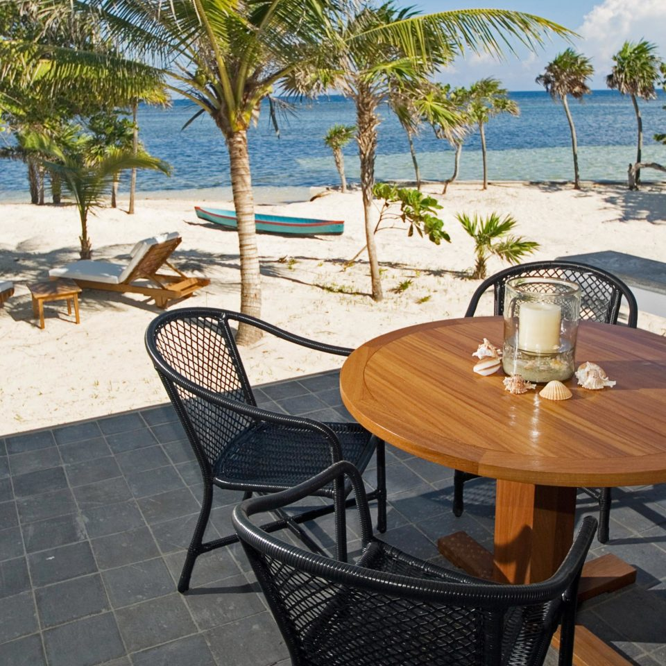 Eco Island Lounge Outdoor Activities Patio Scenic views Waterfront tree chair leisure property Resort Villa home swimming pool backyard cottage Deck
