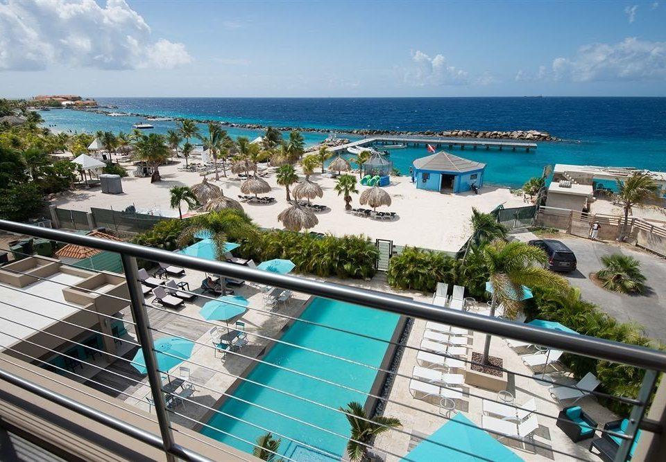 Exterior Luxury Pool sky leisure property Resort caribbean swimming pool Deck condominium resort town Sea marina shore