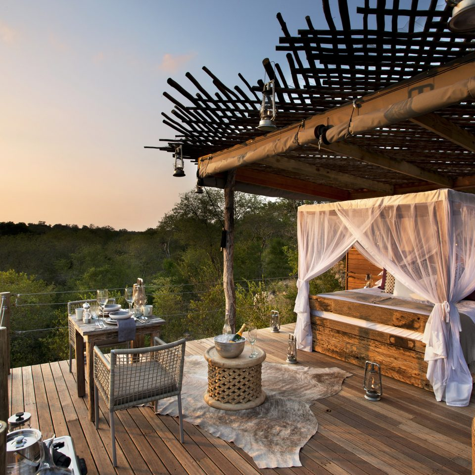 Deck Hotels Lounge Scenic views Trip Ideas home outdoor structure Villa Resort backyard cottage log cabin