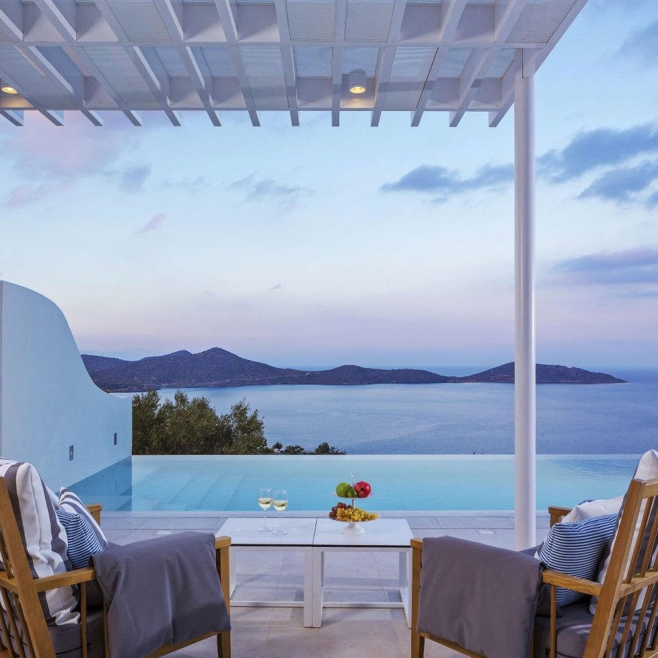 Hotels Trip Ideas sky chair property overlooking Villa swimming pool Resort cottage Deck