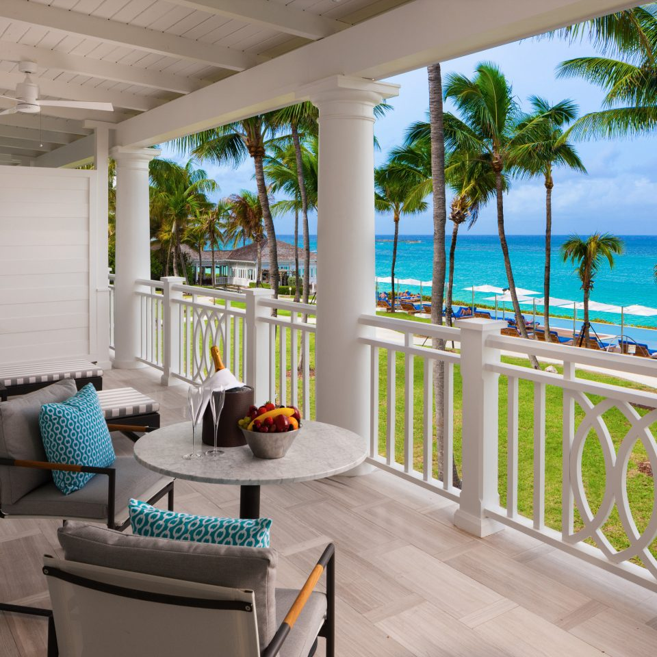 Hotels building property porch home house condominium Villa Resort cottage caribbean overlooking Deck