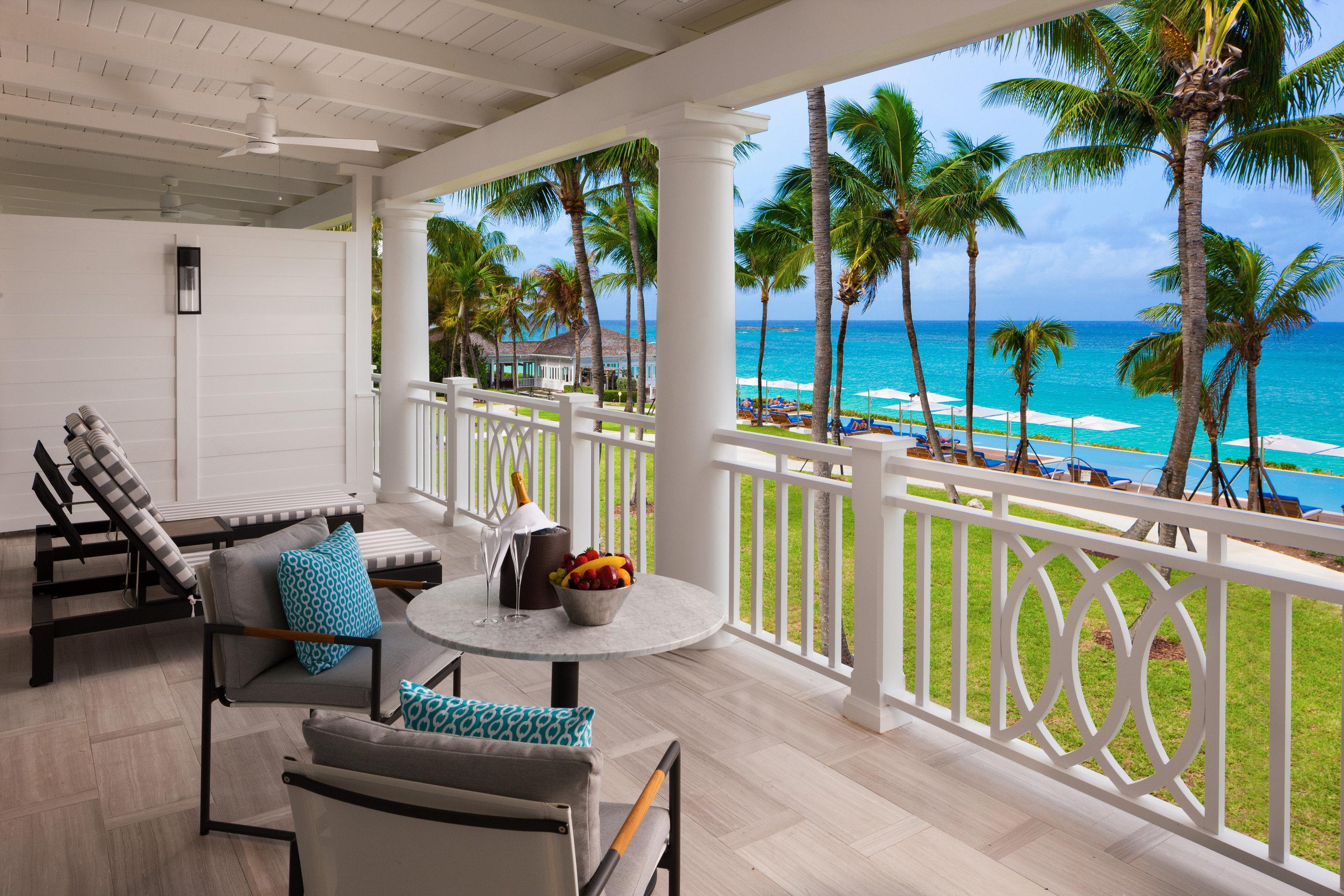 Hotels building property porch home house condominium Villa Resort cottage caribbean overlooking Deck