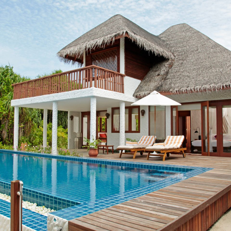 Island Luxury Pool Romance Romantic Villa ground building property swimming pool house Resort home cottage backyard Deck condominium