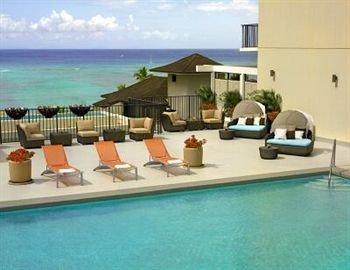 water swimming pool property condominium Villa Resort hacienda Deck swimming Island