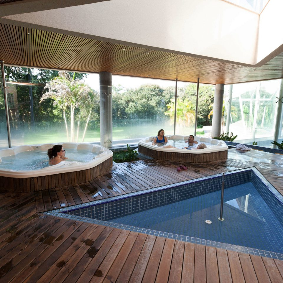 building swimming pool property porch backyard jacuzzi Deck Villa outdoor structure Resort Island stone
