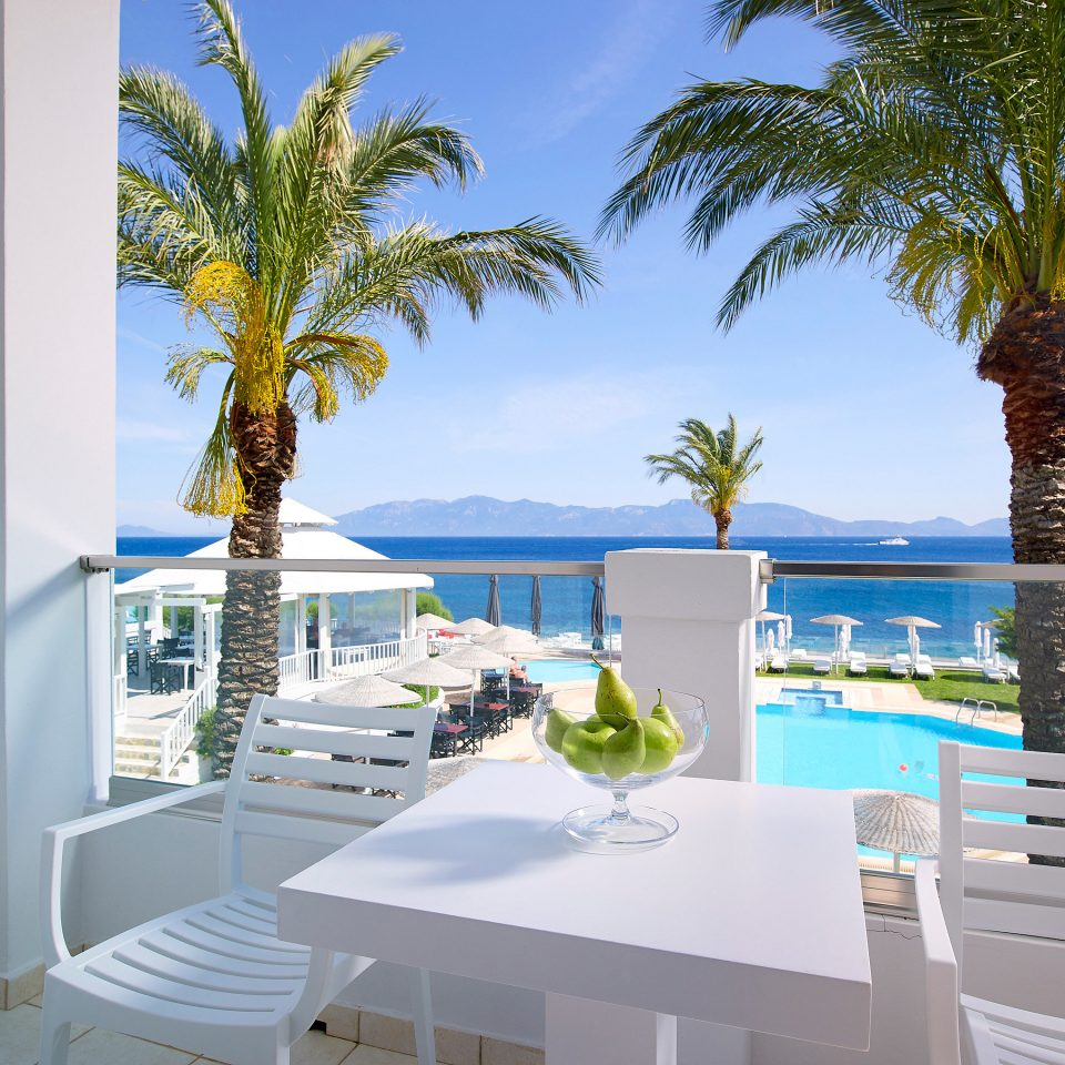 tree condominium property leisure caribbean Resort swimming pool home Villa palm white Deck Island