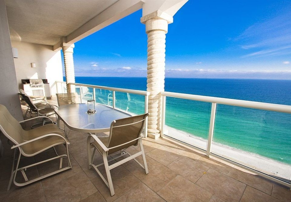 chair water property caribbean swimming pool Villa Resort yacht cottage Deck Island
