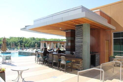 building property chair Villa outdoor structure condominium pergola Deck Island
