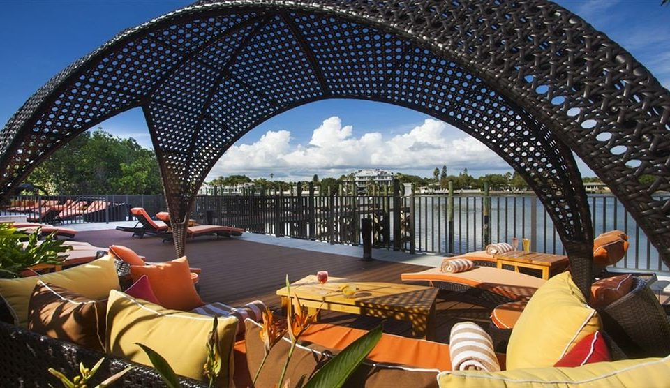 Deck Lobby Outdoors Patio Waterfront leisure building travel arch
