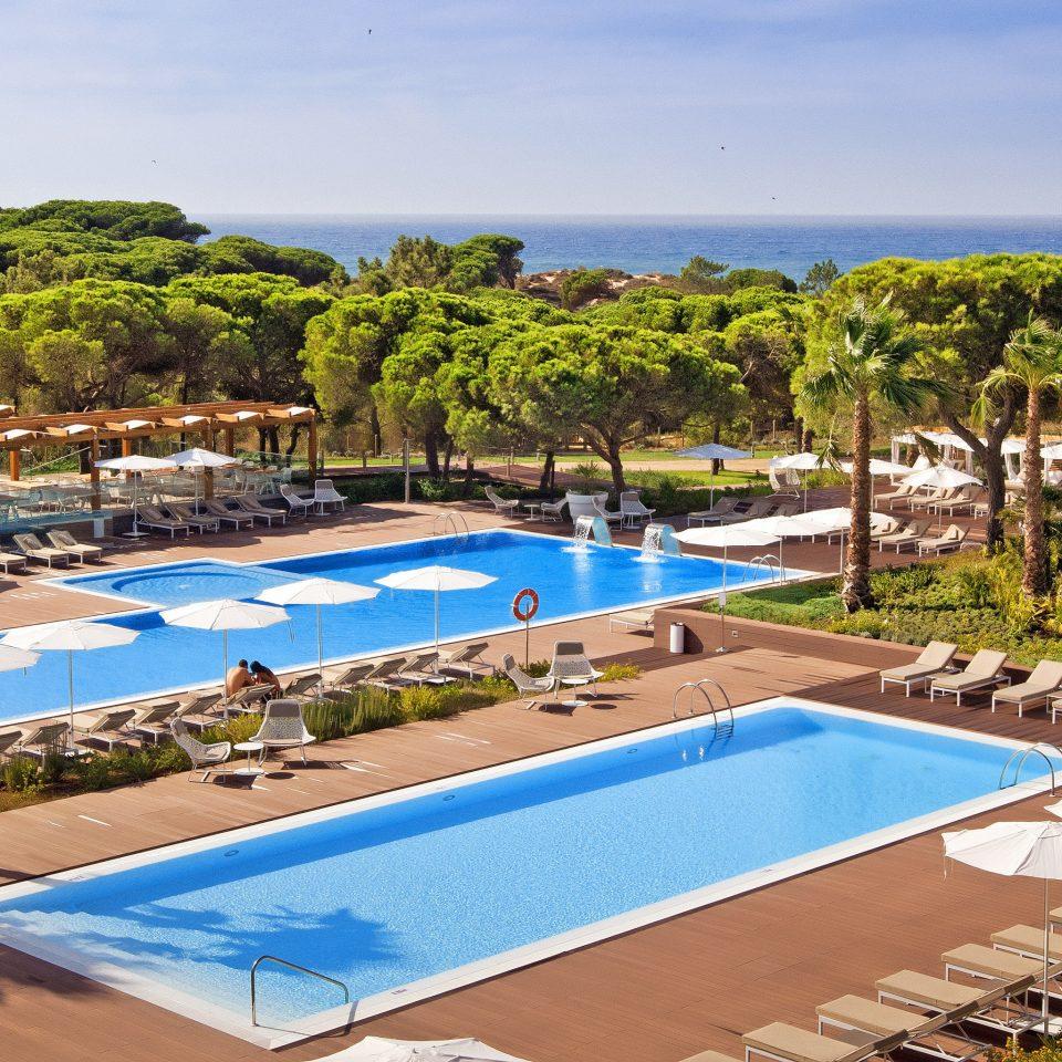 Lounge Pool Scenic views swimming pool leisure property Resort Villa condominium backyard mansion blue Deck