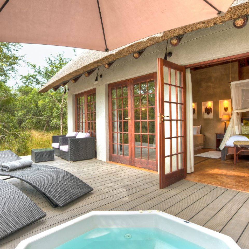 Deck Luxury Safari Suite property house Villa cottage home Resort swimming pool backyard farmhouse outdoor structure