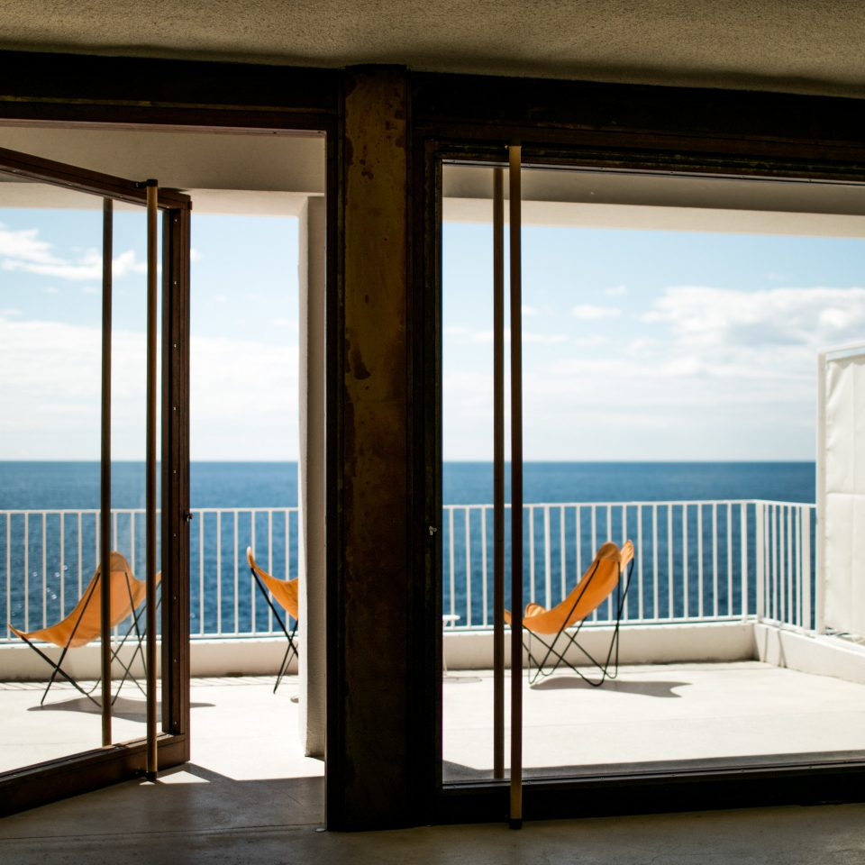 water building door Ocean home sky house condominium overlooking penthouse apartment Deck