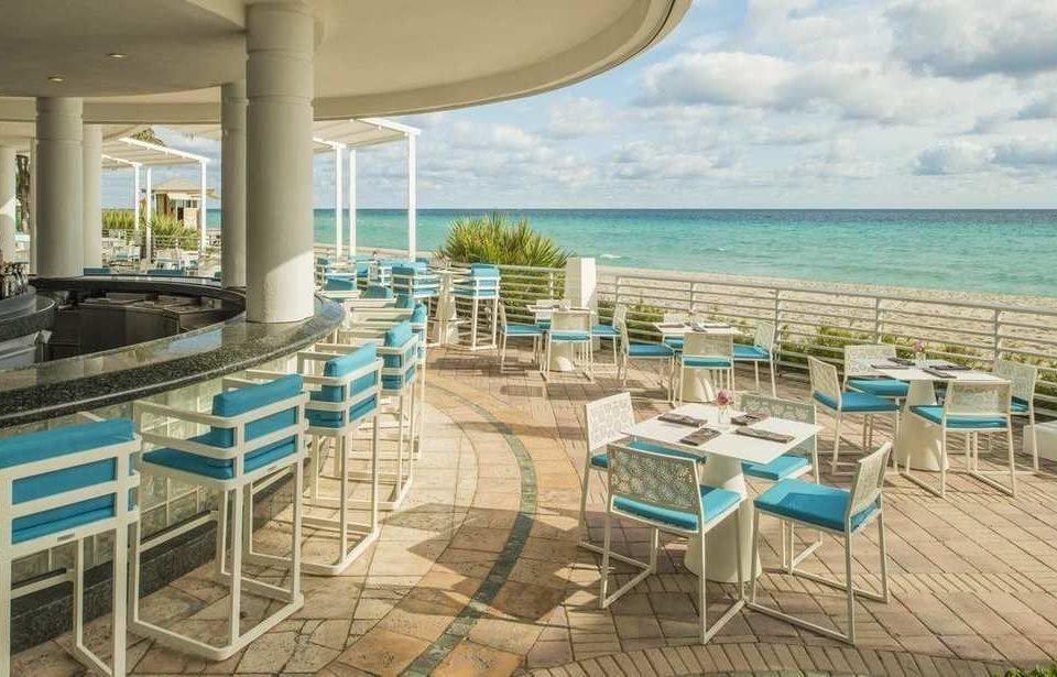 chair property leisure Resort caribbean Ocean condominium Villa restaurant Deck