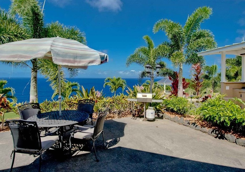 Deck Patio Resort Scenic views tree sky umbrella property swimming pool home palm condominium Villa caribbean lawn backyard mansion shade sandy