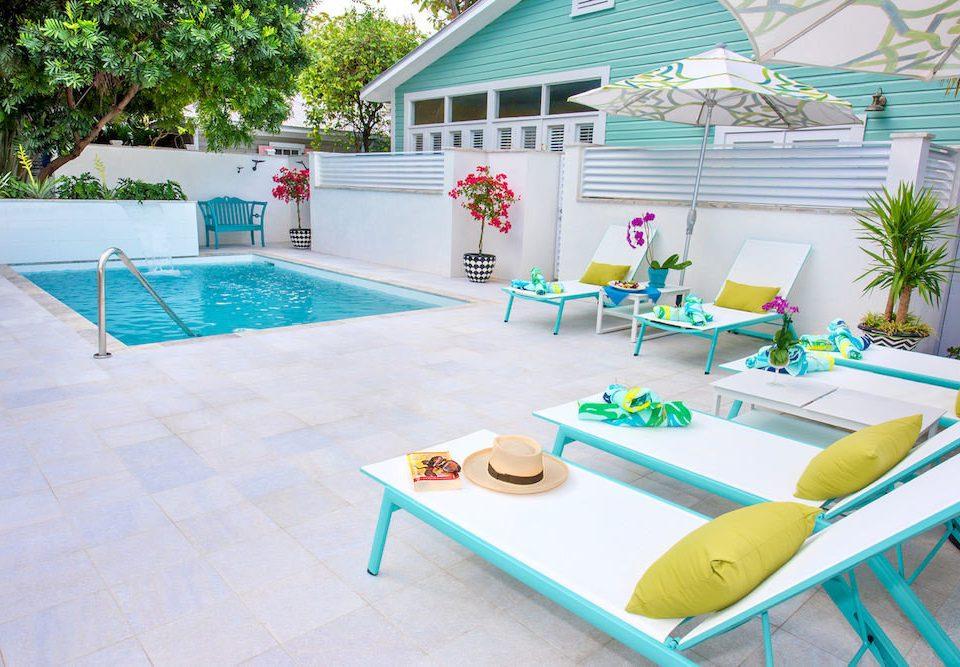 swimming pool leisure property Play backyard home Villa Deck
