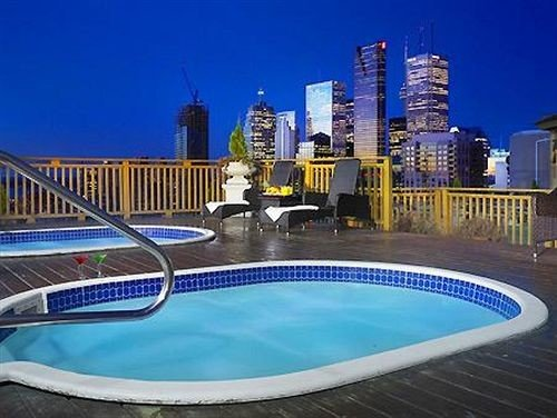 sky swimming pool leisure property reflecting pool blue Resort condominium Pool Deck