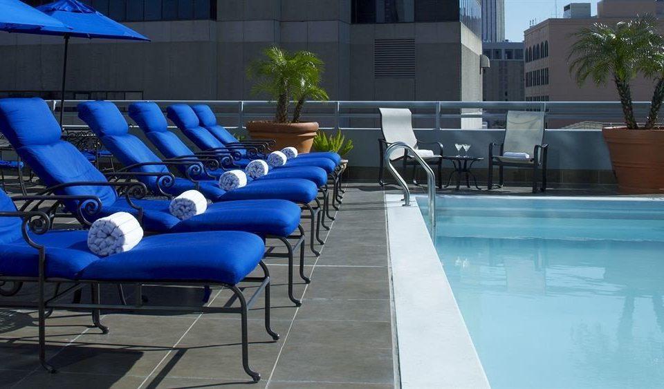 leisure swimming pool blue Pool condominium Resort Deck