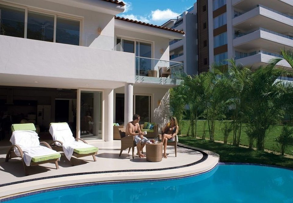 building condominium Resort property swimming pool leisure Villa house home mansion Pool backyard Deck