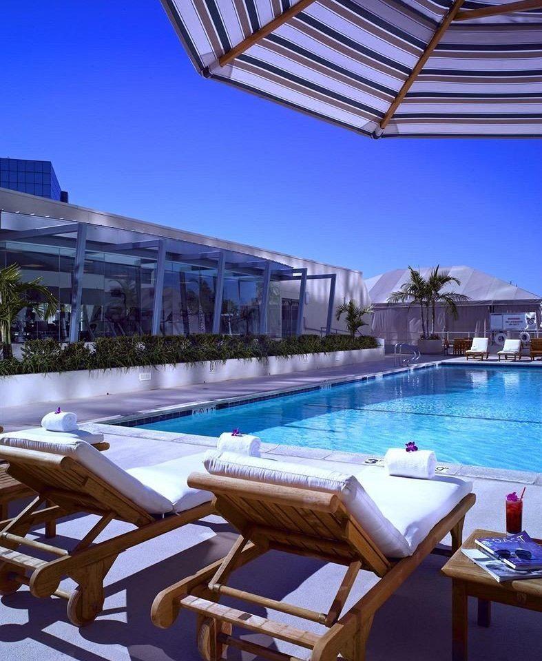 sky chair leisure swimming pool Resort Pool Villa Deck