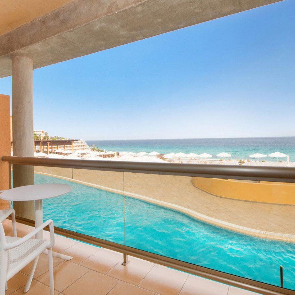 chair water swimming pool property leisure Pool Villa caribbean Resort swimming Deck shore