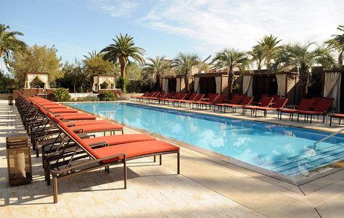 sky tree ground leisure swimming pool property Resort Pool Villa hacienda condominium Deck