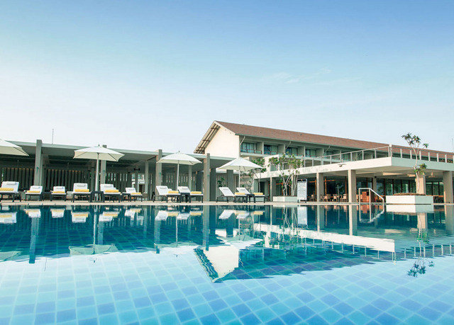 sky water swimming pool leisure property Resort leisure centre marina condominium blue dock swimming Deck