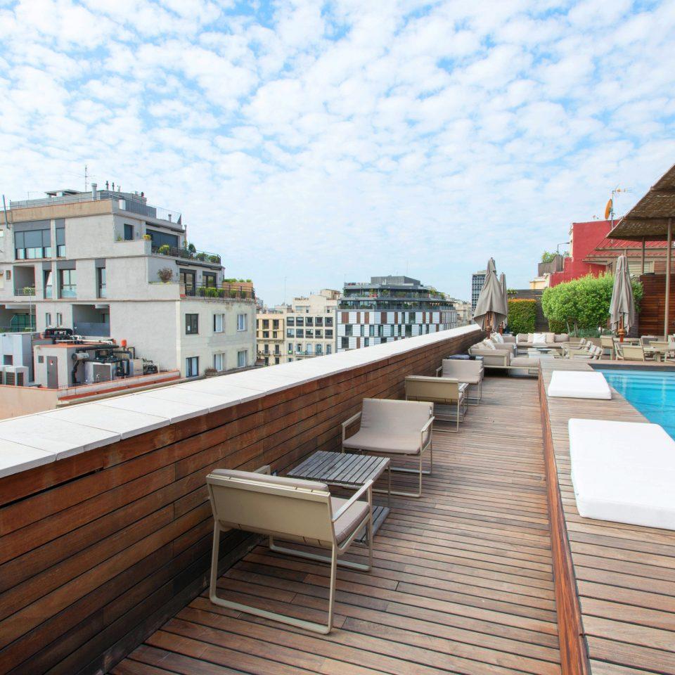 property walkway boardwalk swimming pool dock Resort condominium outdoor structure waterway Deck