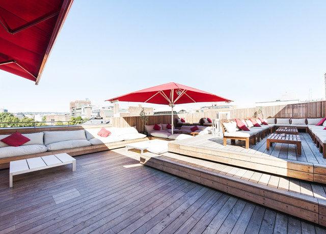sky building vehicle Resort dock outdoor structure Deck