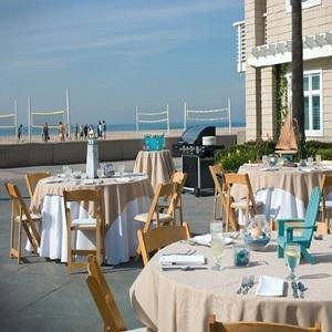 chair property marina restaurant dock Resort overlooking Deck dining table
