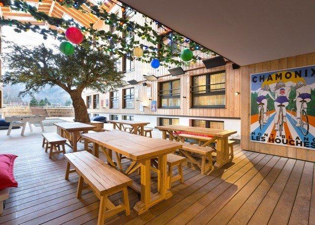 wooden leisure property Resort home Deck