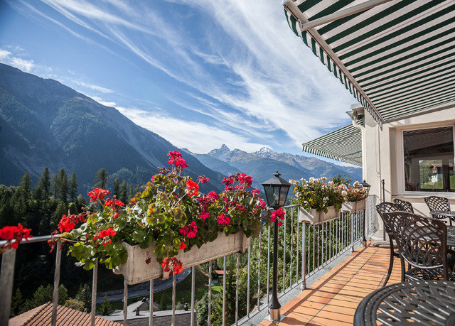 mountain property Resort porch Deck