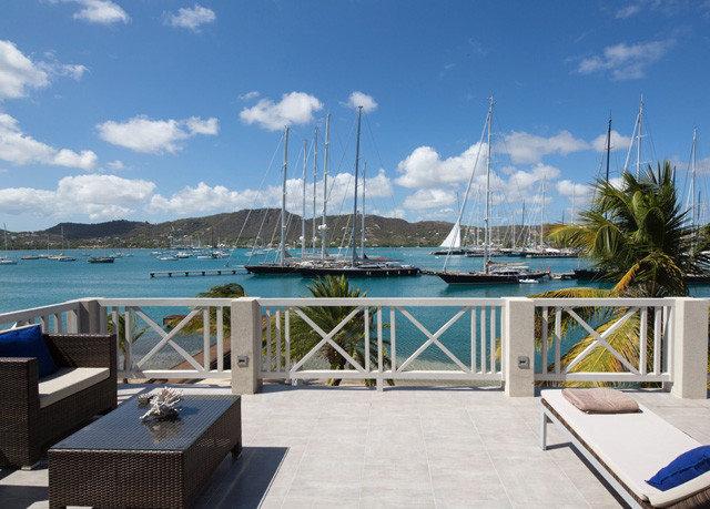 sky marina property dock vehicle Resort yacht caribbean Villa Sea Deck day