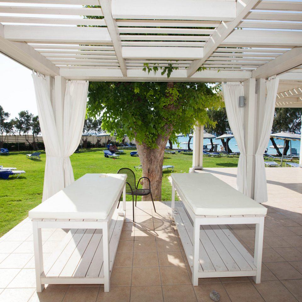 grass property building Resort Villa porch home outdoor structure white backyard pergola Deck