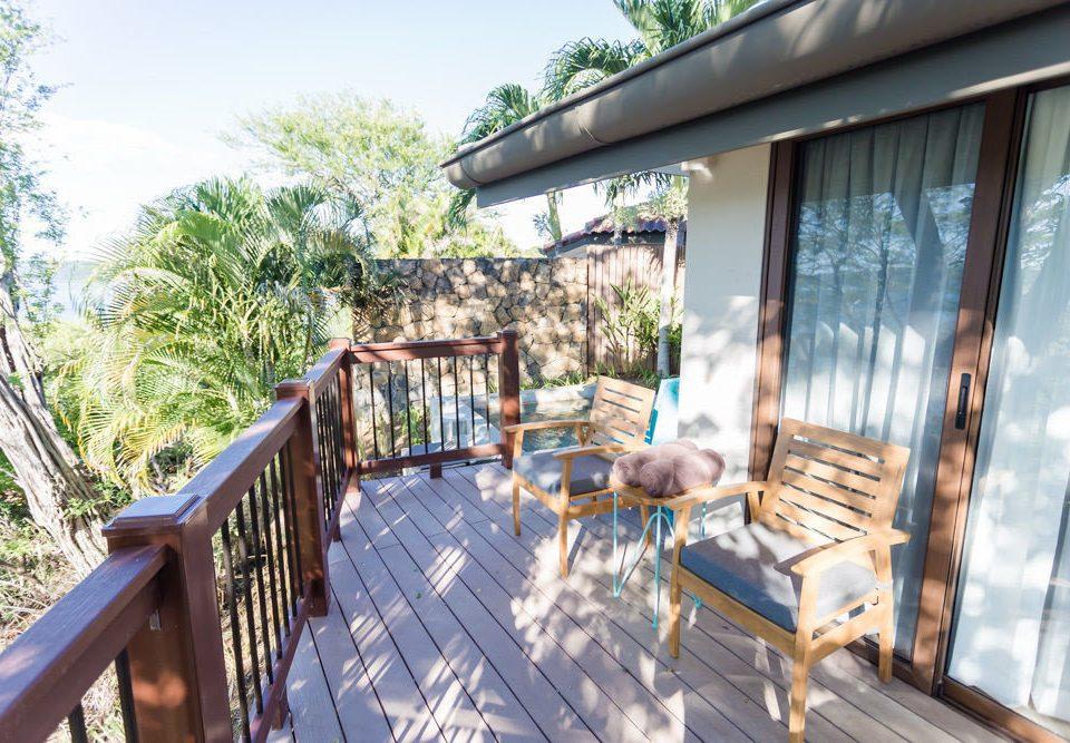 ground building property porch Resort wooden Deck cottage outdoor structure Villa backyard