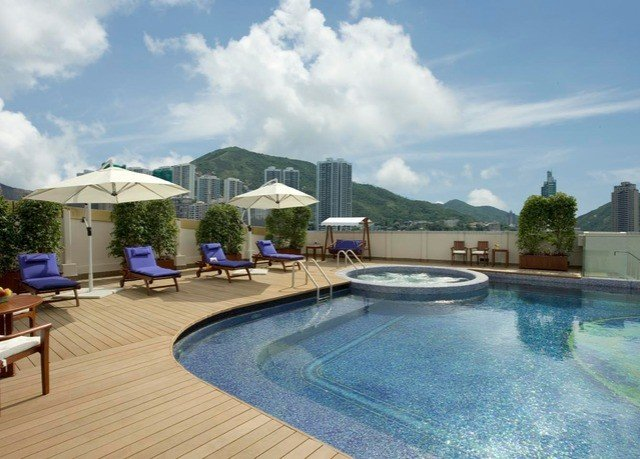sky swimming pool property condominium Resort reflecting pool Villa backyard blue Deck