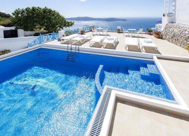 sky swimming pool property leisure blue condominium Villa yacht Deck Resort
