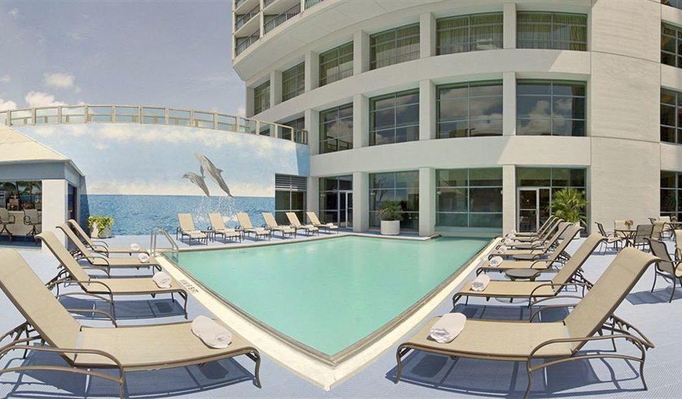 building condominium property Resort marina Villa swimming pool mansion Deck convention center