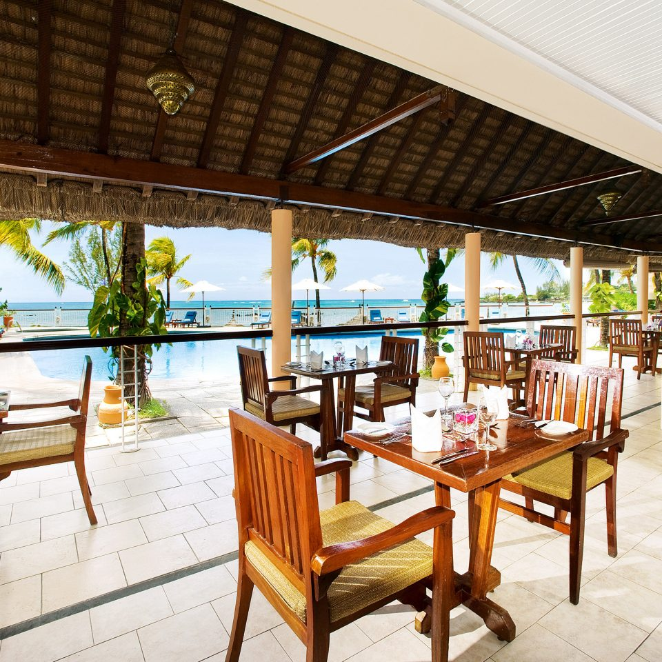chair property building Resort restaurant porch Villa hacienda Deck