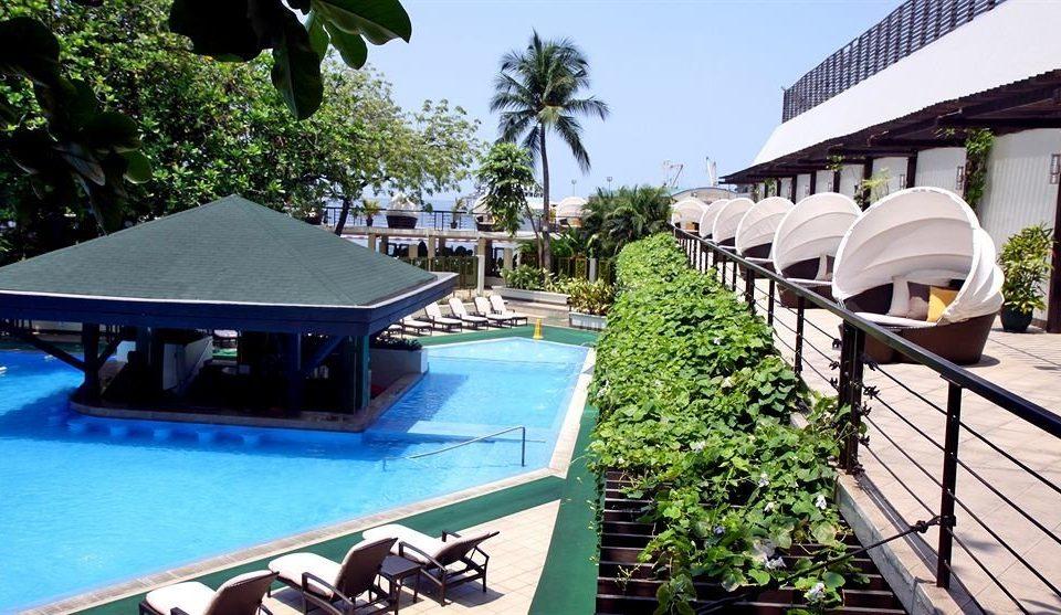 leisure property Resort building swimming pool Villa condominium Deck